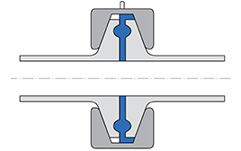 Installation sketch Clamp seal