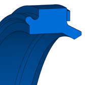 Cross section sketch Damper Seal